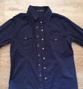 Рубашка на клепках tbj jeans