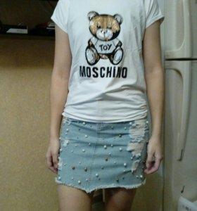 Юбка джинсовая новая с этикетками