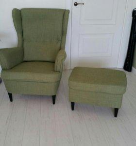 Кресло с банкеткой