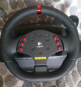 Игровой руль MOMO Racing