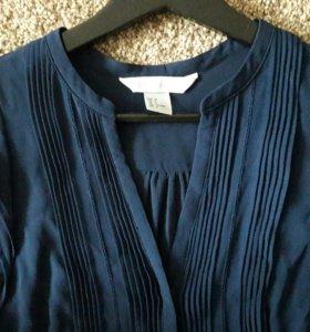 Легкая синяя блузка 👕👗👚