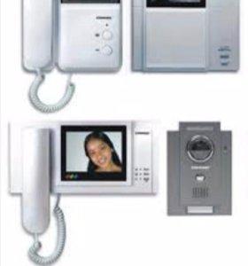 Установка и ремонт видеонаблюдения и домофона
