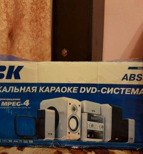 Музыкальная караоке DVD-СИСТЕМА BBK ABS535T