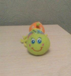 Гусеница мягкая игрушка