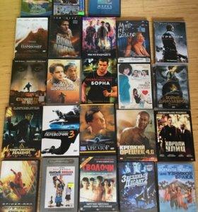DVD диски, на фото не все.