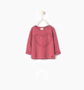Кофта для девочки с длинным рукавом Zara