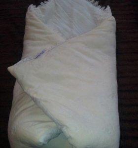конверт на выписку можно и как одеяло