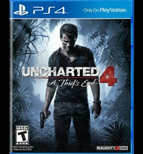 Продам игру Uncharted 4 на PS4