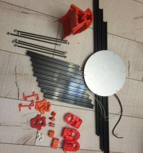 Набор деталей для сборки 3D принтера Kossel Delta