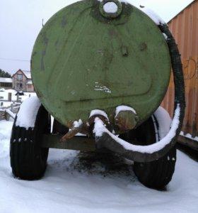 Бочка на колесах в лен.области