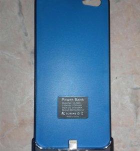 Чехол-аккумулятор на iPhone5-5s новый