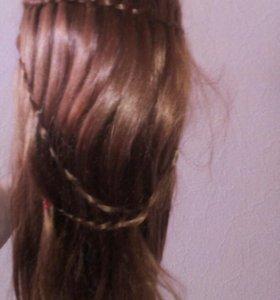 Продам учебный маникен, волос искуственный
