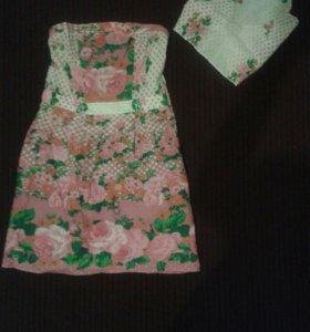 Платье+косынка