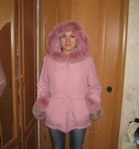 Куртка демисезонная + тёплая зима