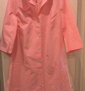 Платье рубашка новая