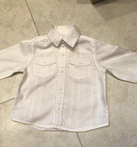 Две рубашки и кардиган на 1,5 года