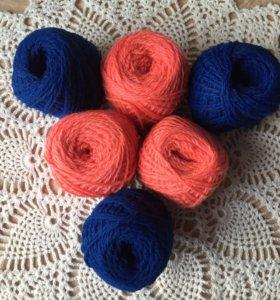Дешево!!!Кисловодская пряжа для ручного вязания