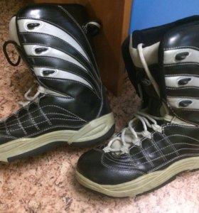 Сноубордические ботинки размер 42