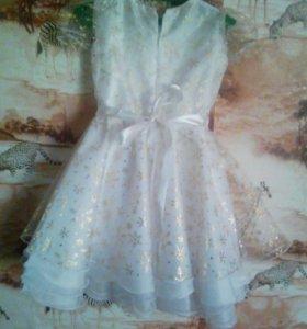 Платье на девочку (1-2 года). 26 размер