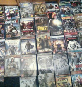 Много дисков на PC
