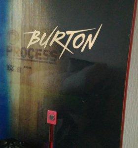 Сноуборд Burton+крепление