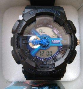 Мужские часы Casio G-shock Ga-100 blue
