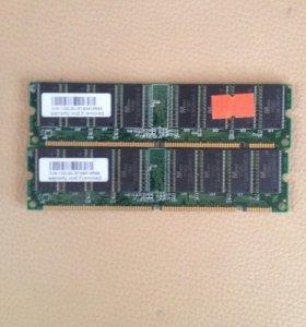 Планка памяти PC133 256MB (М.tek)
