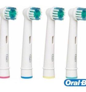 Насадки для зубной щетки Braun