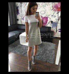 Платье хб новое
