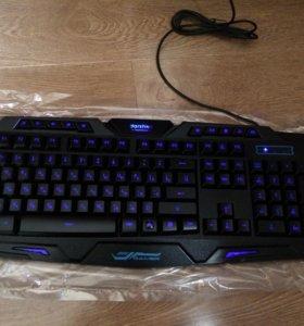 Клавиатура gamer с подсветками