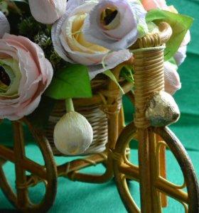 """Подарок из конфет """"Велосипед"""""""