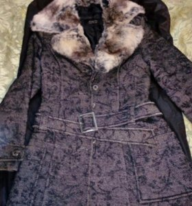 Пальто теплое зима
