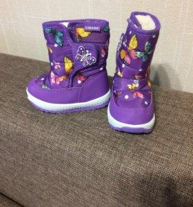 Новые ботиночки демисезонные,р 21