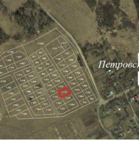 участок12 сот.,земли поселений (ИЖС),16 км до гор
