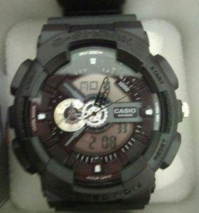 Часы CASIO G-Shock серебро