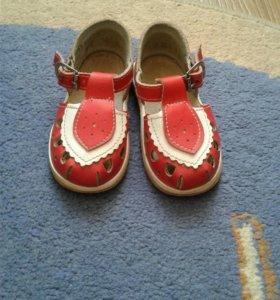 обувь для девочки 20 размер