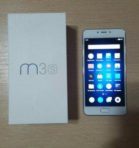 Смартфон Meizu M3s mini 16gb silver/white LTE