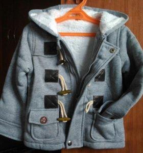 Толстовка-пальто детское