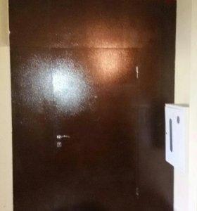 Металлические двери ворота