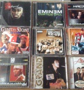 CD  МП3 музыкальные