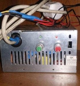 Блок управления подачей пеллет для теплиц