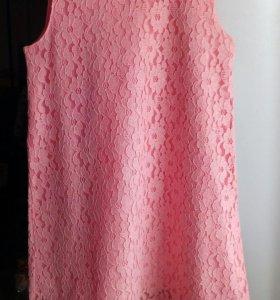 Платье нарядное кружево р 110-116