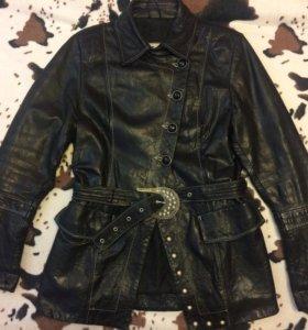 Куртка натуральная кожа р 46, Casaba