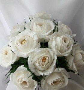 Английские Розы в корзине
