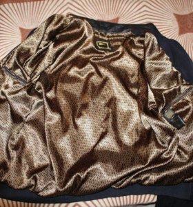 Замшевая куртка zilli