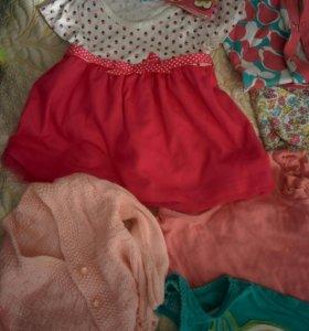 Одежда для девочки от 3 до 12 месяцев