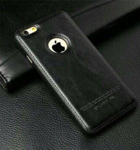 Чехол на iphone 5S/SE эко-кожа