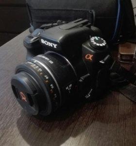 Фотоаппарат Sony A200+объектив