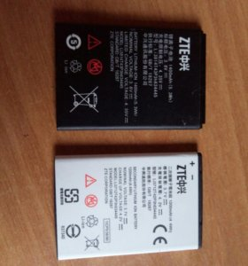 Аккамуляторы - батарейки на смартфон , телефон ZTE