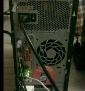 Компьютер, системный блок(2ядра/4гб) ПК, процессор